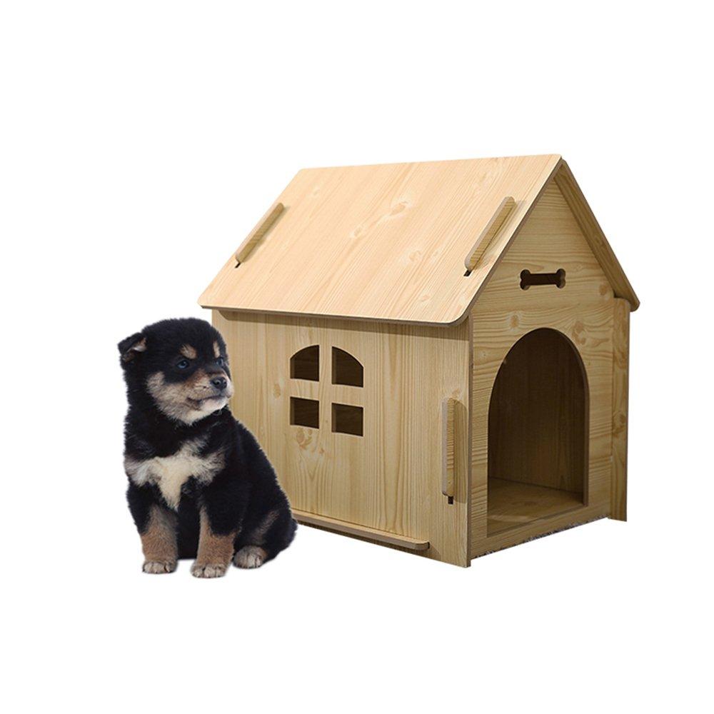 WX-WX Pet di Nido Animali Domestici All'aperto Grande Villa in Legno con Canile per Cani Alloggi per Animali Ottimizzata Nido di Gatto Letto per Cani Fossa Impermeabile Facile da Pulire Multifunzione