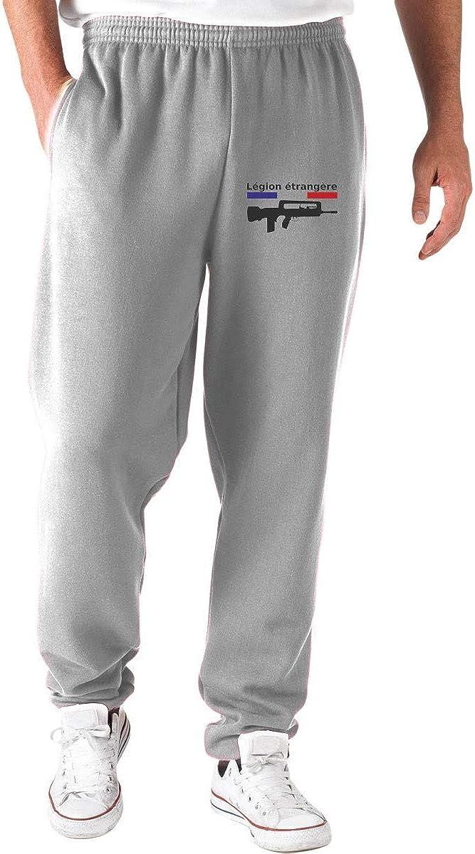 T-Shirtshock Pantalons de Survetement Courts Gris WTC0687 Legion Etrangere