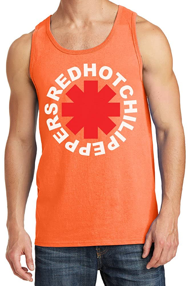 Mens Red Hot Chili Peppers Asterisk Tank Top