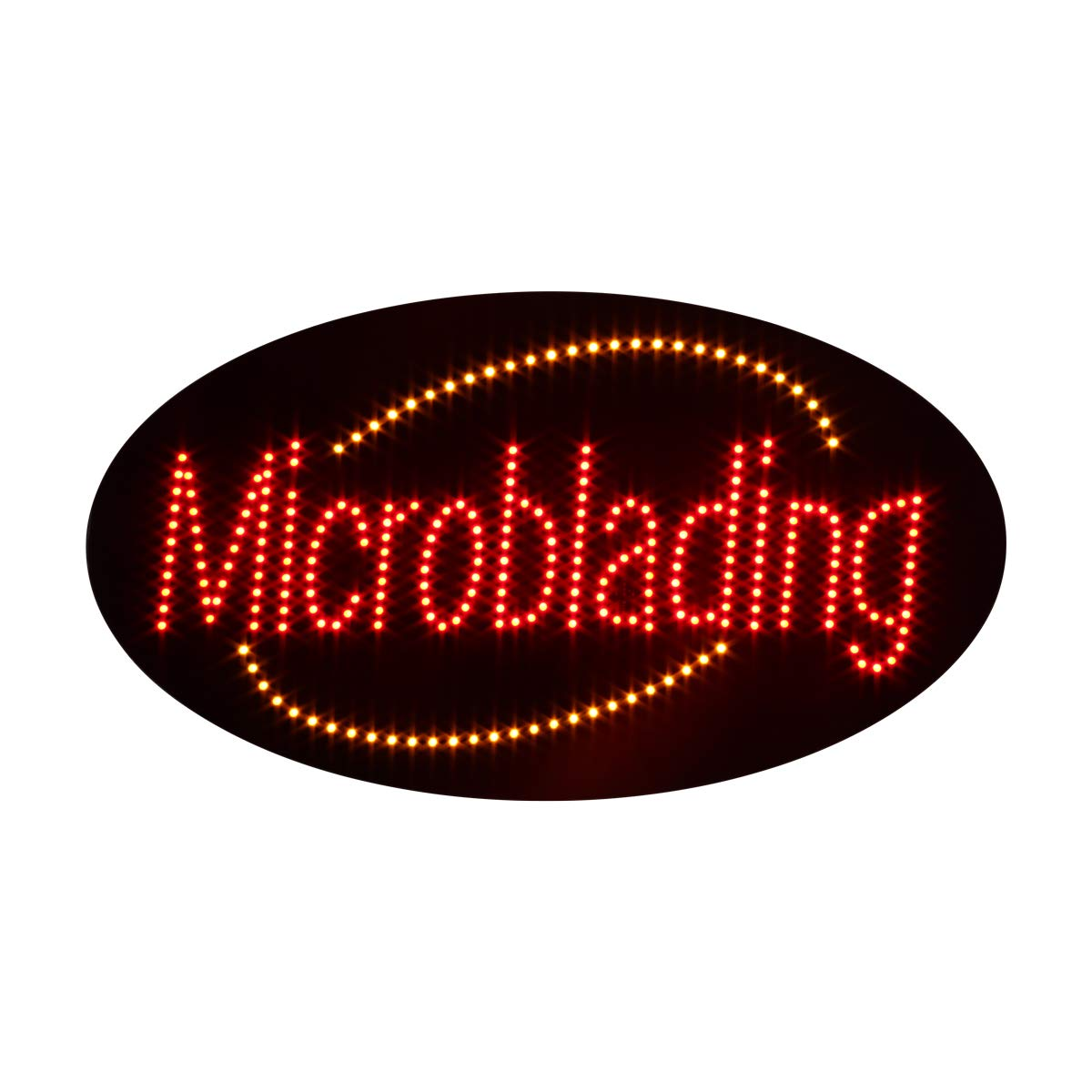 LED Eyebrow Microblading Open Light Sign Super Bright Electric Advertising Display Board for Permanent Makeup Beauty Salon Business Shop Store Window Bedroom Decor 27 x 15 inches