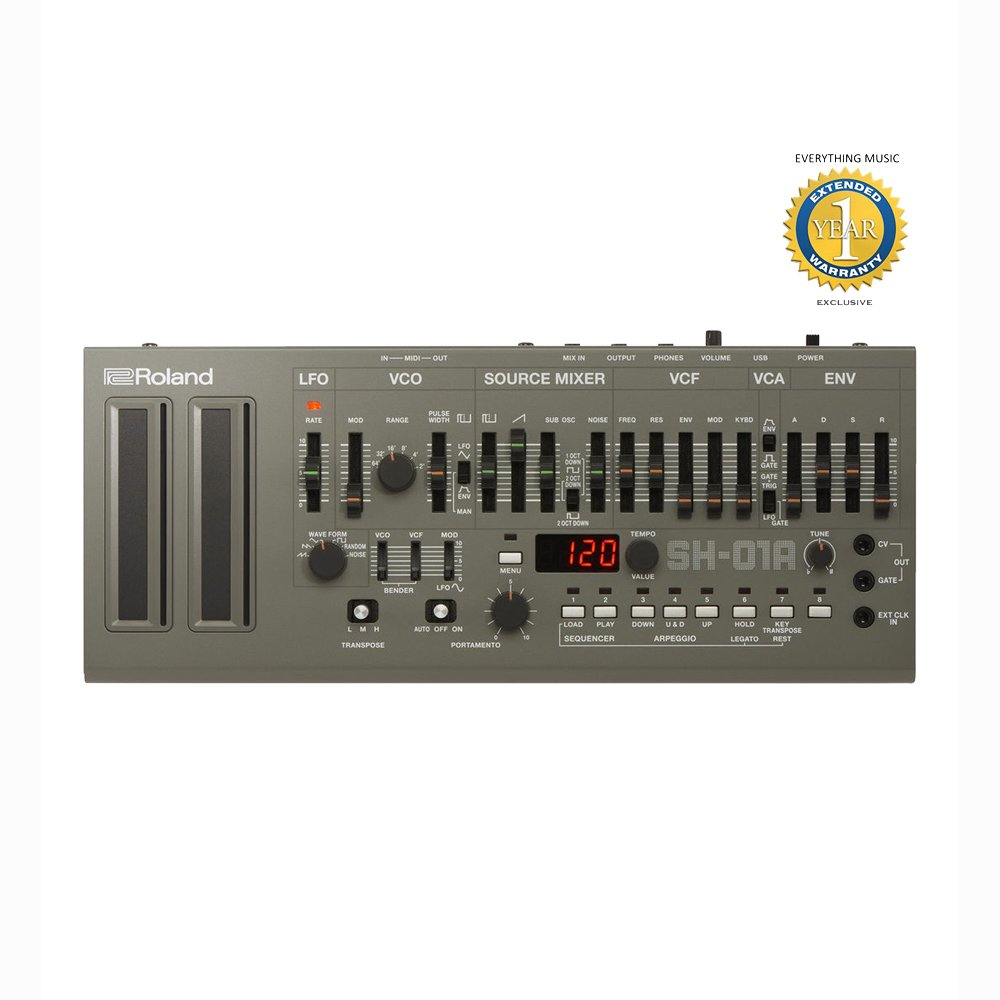 Roland SH-01A Boutique Series 4-voice Synthesizer Module with 1 Year EverythingMusic Extended Warranty Free