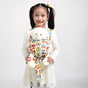 Amazon Com Sigzagor Baby Doll Carrier Mei Tai Sling Toy For Kids