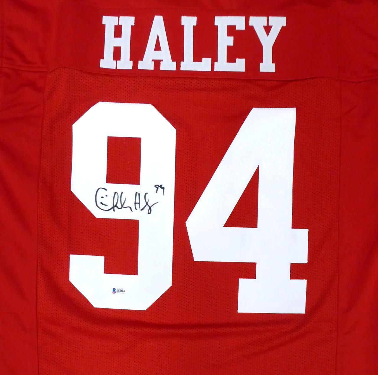 charles haley jersey