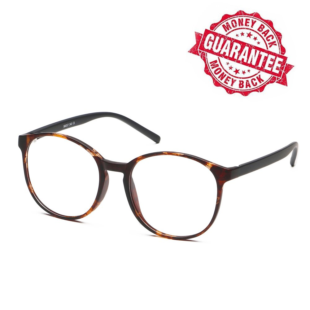 LifeArt Blue Light Blocking Glasses,Computer Reading Glasses,Transparent Lens,Reduce Headaches&Eyestrain,Stylish for Women/Men