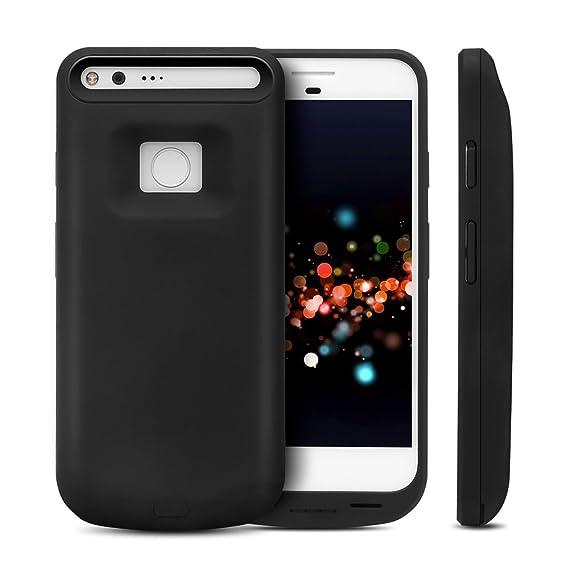 buy online 761c7 26be5 Amazon.com: Google Pixel XL Battery Case,BEAOK 5000mAh Portable ...
