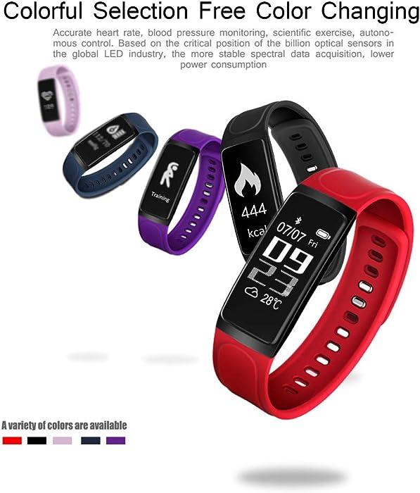 Amazon.com: Star_wuvi Fitness Tracker Color Screen Activity ...