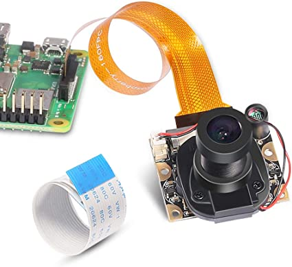 B+ Night Vision IR Camera Module for Raspberry Pi 3 Model B A # 2B