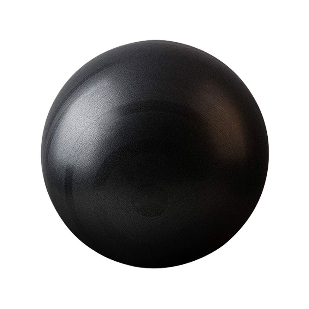 Exercise Ball, 55 Anti-Burst Supports 200kg Gym Ball with Pump, Swiss Ball for Yoga Pilates Pregnancy & Fitness Core Training and Physical Therapy (Color : Black, Size : 55cm)