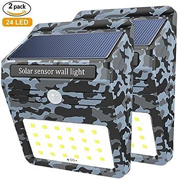 2 Pack Soft Digits 24 LED Solar Lights