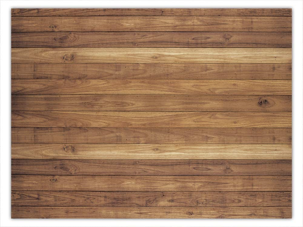 Allenjoy 8x6ft Soft Fabric Rustic Brown Wood Wall Wooden Photography Backdrop Background for Birthday Wedding Baby Shower Party Decor Wrinkle Free Material Photo Studio Booth Props Photobooth