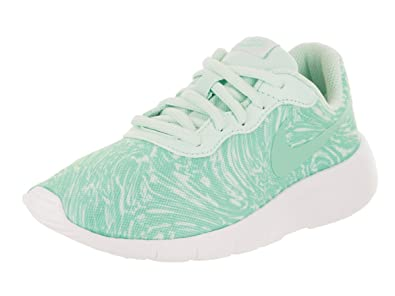 abe1e41b87f83 Amazon.com: NIKE Kids Tanjun Print (PS) Igloo/Emerald Rise/White ...