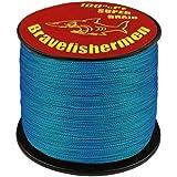 Superpower Braid Fishing Line 100m 300m 500m 1000m Saltwater 4 Strand 8lb-100lb Orange Gray Yellow Blue Tackle…