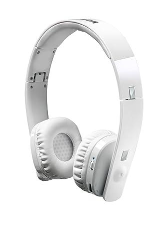 Vieta VHP-WB600WH - Auriculares de diadema cerrados, con Bluetooth, color blanco: Amazon.es: Electrónica