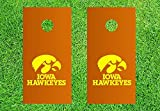 IOWA HAWKEYS Cornhole Decals - 6 Cornhole Decals - 4 Free Window Decals