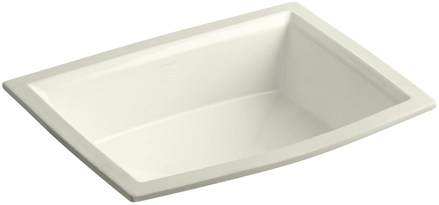 KOHLER K 2355 96 Archer Undercounter Bathroom Sink, Biscuit   Bathroom Sinks    Amazon.com