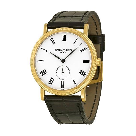 PATEK PHILIPPE CALATRAVA de hombre 18 K amarillo oro reloj - 5119j-001: Patek Philippe: Amazon.es: Relojes