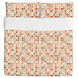 Autumnal Star Bingo Duvet Bed Set 3 Piece Set Duvet Cover - 2 Pillow Shams - Luxury Microfiber, Soft, Breathable