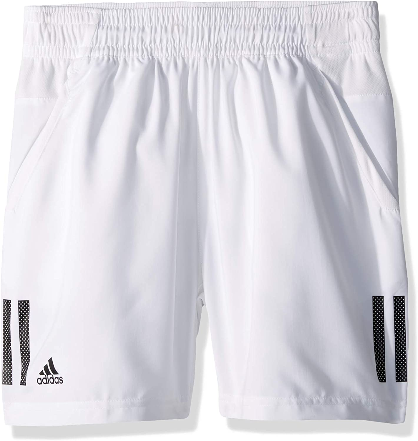 adidas Boys' 3-Stripes Club Shorts