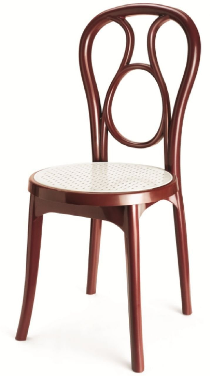 Nilkamal plastic chair - Nilkamal Series 4041 Chair Maroon And Cream Amazon In Home Kitchen