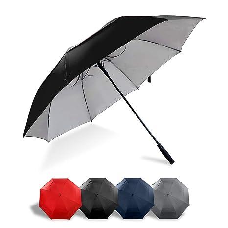 29c5d9028a2b Lejorain 68 inch Large Windproof Golf Umbrella- Auto Open Oversize Umbrella  Sun Protection for Men Women