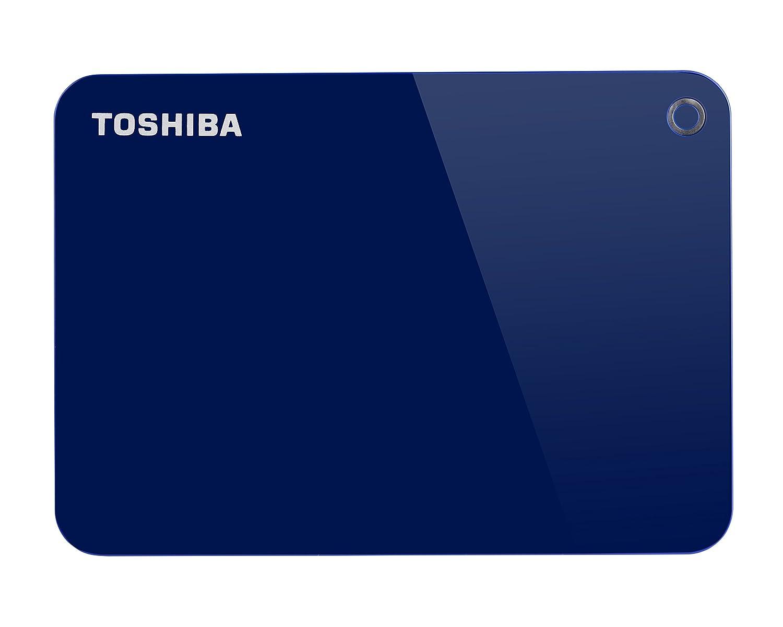 Toshiba HDTC910ER3AA  Canvio Advance Portable Externe Festplatte USB 3.0, 1TB rot 199207