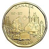 2017 Canada 150th Anniversary $1 Loonie