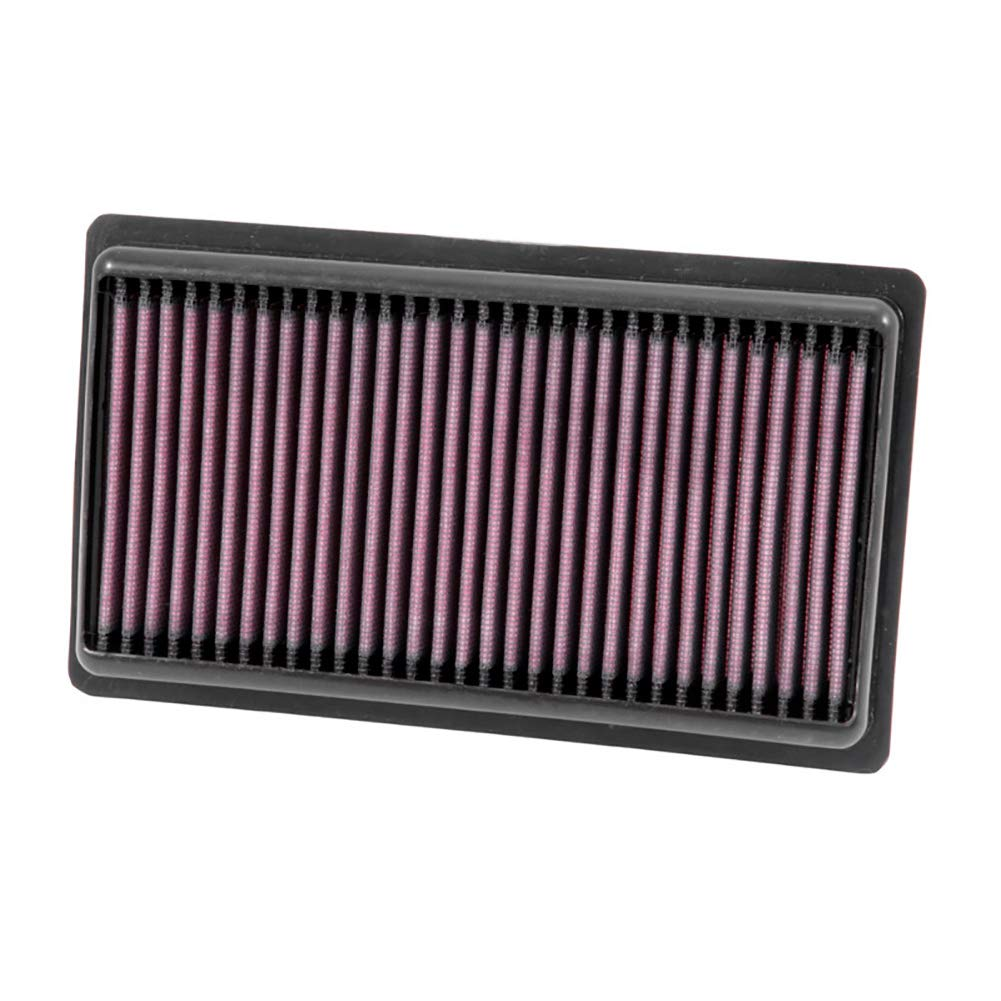 K&N Engine Air Filter: High Performance, Premium, Washable, Replacement Filter: 2013-2019 FIAT (500L), 33-5015,Heather…