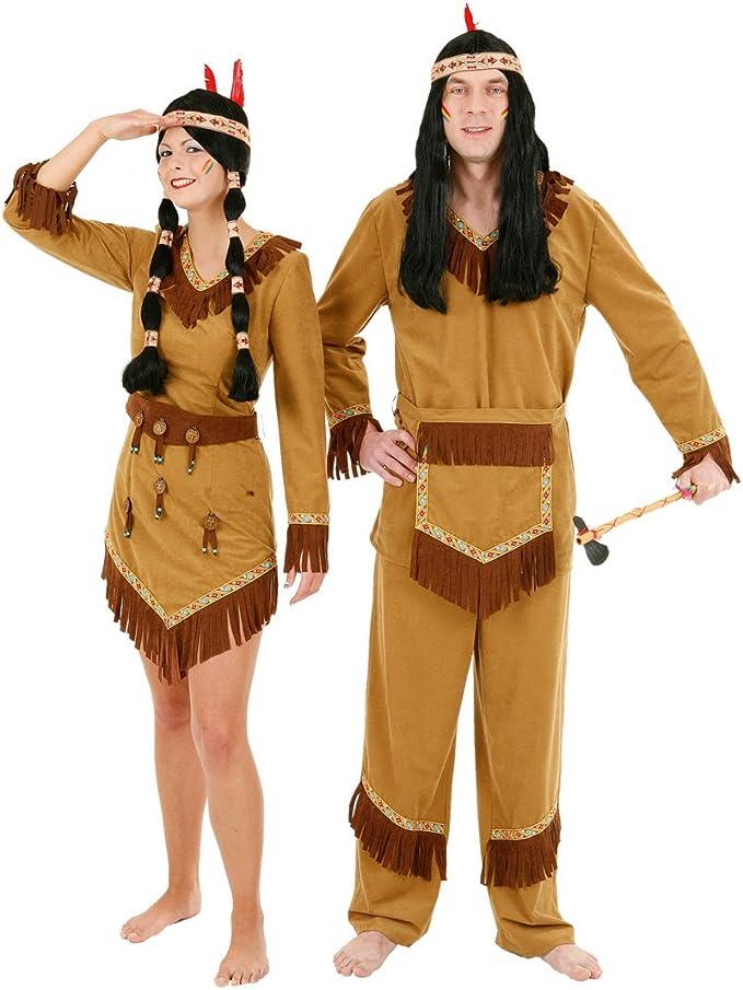 Disfraz de India y lobos Arapaho - tienda de disfraces de indios ...