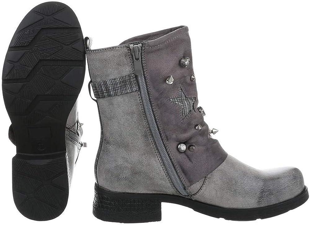 Ital-Design - Botines para mujer Grau 8085 3 GWFyv