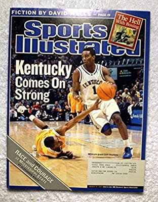 Cliff Hawkins - Kentucky Wildcats - Kentucky Comes On Strong - Sports Illustrated - March 10, 2003 - College Basketball, March Madness - SI