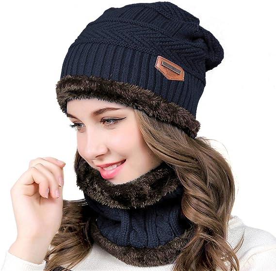 Muco Bonnetécharpe Et Col Chauds En Tricot Pour Hommefemme Pour Ski Ou Plein Air Collection Automne Hiver