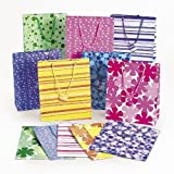 Fun Express Mega Colorful Gift Bag Assortment (5 Dozen)