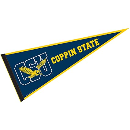 Coppin State University >> College Flags And Banners Co Coppin State Pennant Full Size Felt