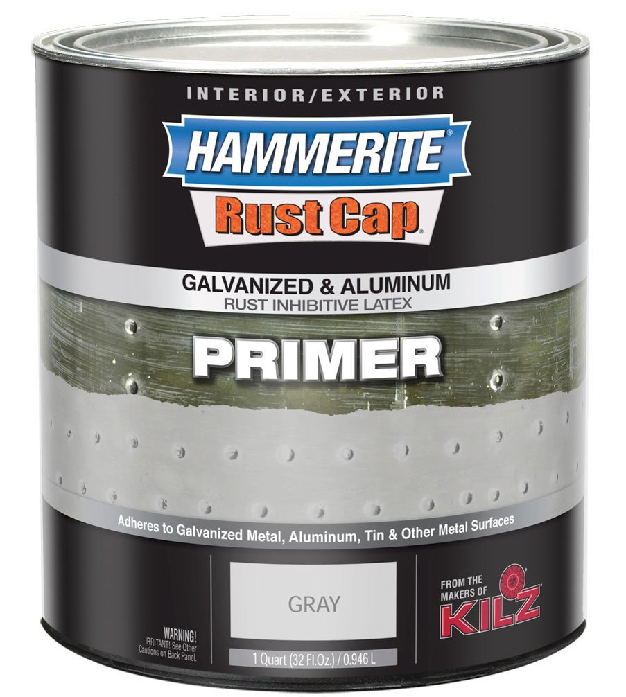 hammerite 48300 rust cap rust preventative paint hammered gray primer. Black Bedroom Furniture Sets. Home Design Ideas