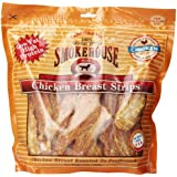 Smokehouse 100-Percent Natural Chicken Breast Strips Dog Treats, 2-Pound