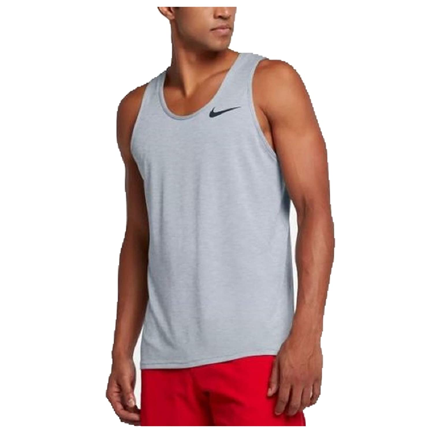 incredible prices 2019 original select for latest Nike DRI-FIT Men's Breathe Training Tank Top Light Grey/Black