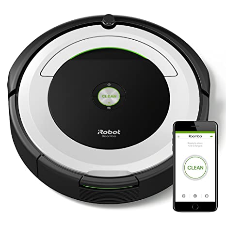 iRobot Roomba 691- Robot aspirador para suelos duros y alfombras, con tecnología Dirt Detect, sistema de limpieza en 3 fases, con conexión wifi, ...