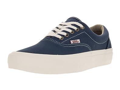 3fb47eae42 Image Unavailable. Image not available for. Color  Vans Men s Era Pro  Insignia Blue Marshmellow Skate Shoe ...
