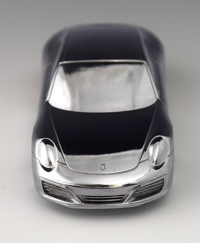 Porsche 911 Turbo edición limitada modelo Billet Aluminio/pisapapeles...: Amazon.es: Coche y moto