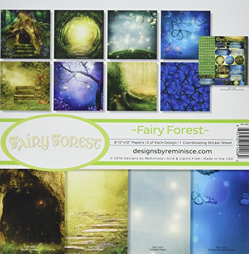 (Reminisce FAF-200 Fairy Forest Collection Kit, 12