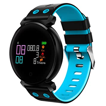 BOBOLover Pulsera de Actividad Inteligente,Reloj Inteligente Reloj Digital Reloj Deportivo Reloj Automatico Pulsómetro Monitor de Ritmo Cardíaco Sueño: ...
