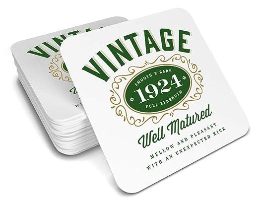 Posavasos de recuerdo de 95º cumpleaños, 1923 para vaso ...