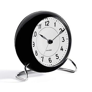 Amazon.com: Rosendahl Reloj Aj Mesa Reloj Estación Arne ...