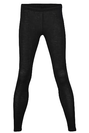 2e1d01d4843df EcoAble Apparel Women's Thermal Leggings Pants Base Layer, Organic Merino  Wool Silk Blend (34