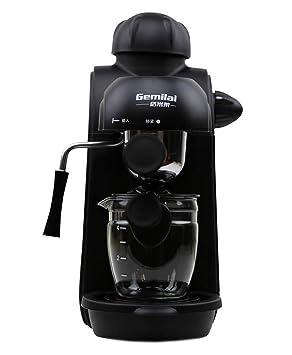 ZXZ-GO Casa café Máquina Semiautomático Bomba de Vapor Presión Fórmula Maquina de Cafe Está moliendo Jugando Burbuja de Leche: Amazon.es: Hogar