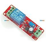 KitsGuru Ne555 DC12V Digital Delay Timer Relay Switch Adjustable 0 To 10 Seconds KG093