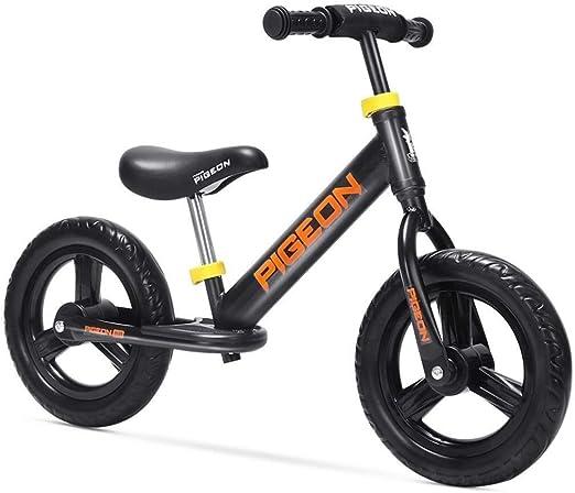 LPYMX Bicicletas sin Pedales para niños Bicicleta de Equilibrio for ...
