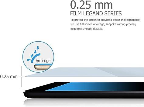 ELTD Protector de Pantalla para Surface Pro 6, 9H,2.5D, Vidrio ...