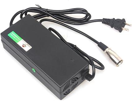 Amazon.com: Wingsmoto YC52/36V 2A XLR Cargador de batería de ...
