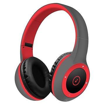 SUAVER Auriculares Inalámbricos, Bluetooth Auriculares estéreo Música Plegable Headset con Mic Manos Libres,para